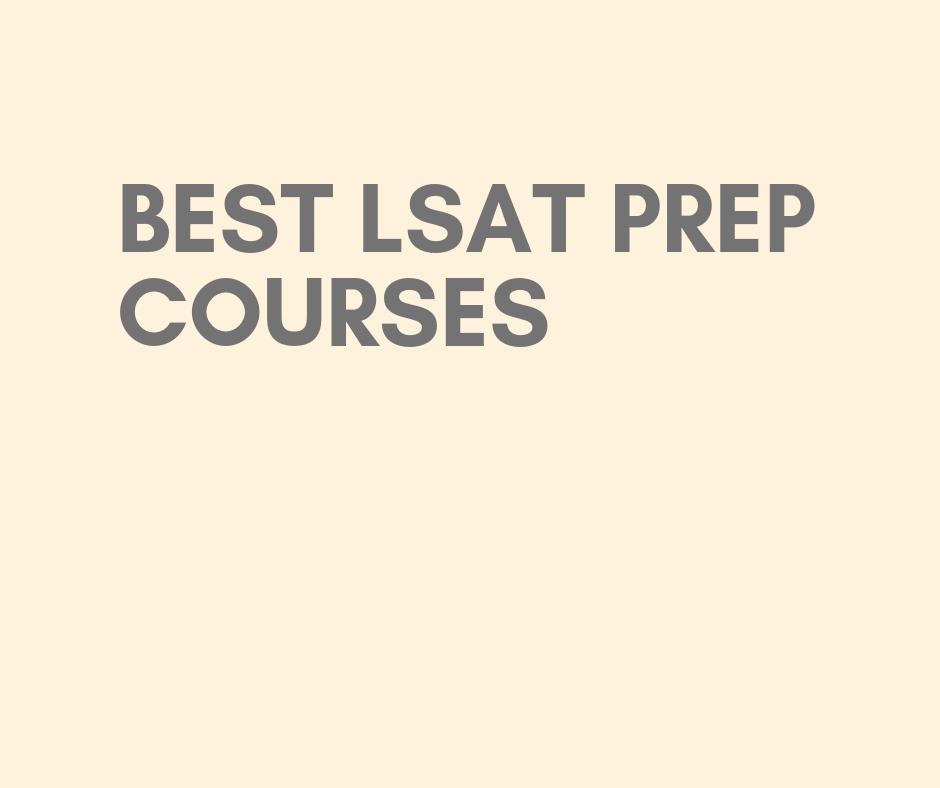 lsat prep courses